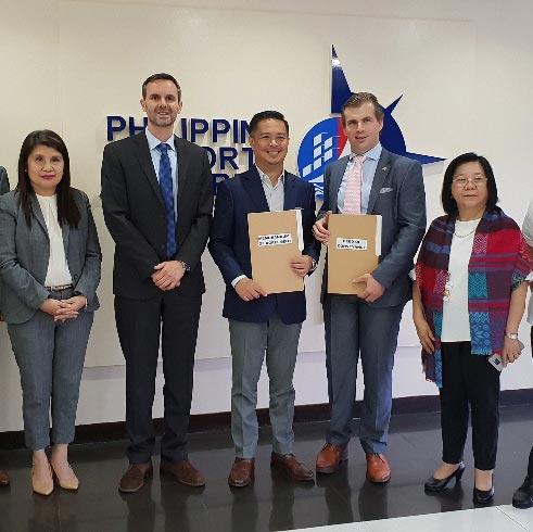 New Memorandum of Agreement with Philippine Ports Authority